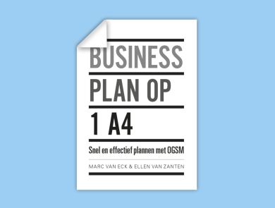 Businessplan op 1 A4 - Marc van Eck