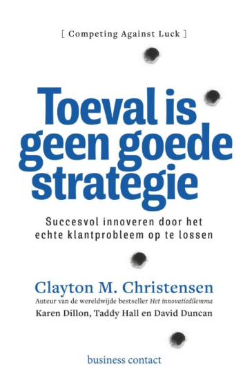 Toeval is geen goede strategie - Taddy Hall